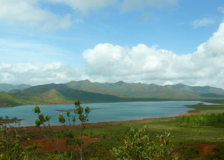 Panorama parc provincial de la rivière bleue