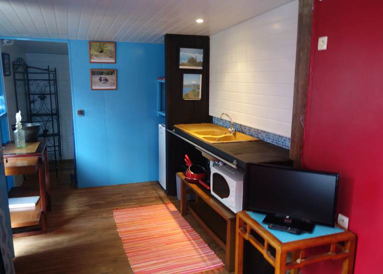 Kitchenette du chalet