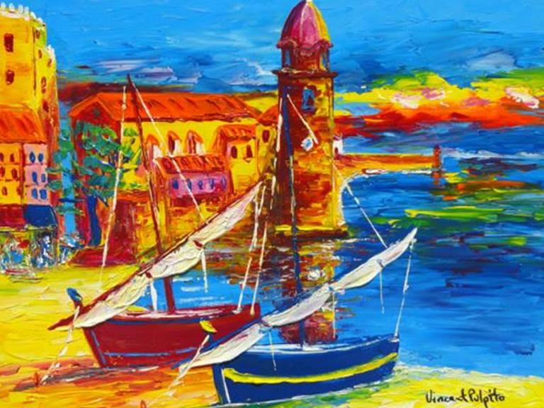 Art Expo Vincent Pulpito- Collioure