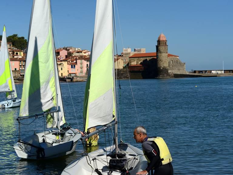 Ecole de voile, Paddle, Kayak à Collioure
