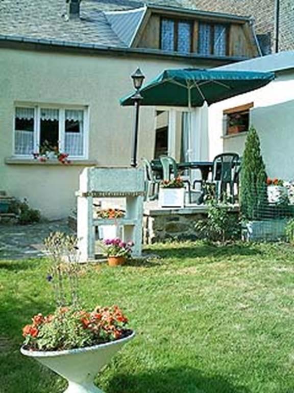 terrasse jardin barbecue
